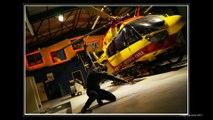 Décoration du hall base des hélicoptères de la sécurité civile Entzheim