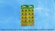 GP A76 LR44 AG13 Alkaline Cell 1.5V Alkaline Button Cell Battery x (20) Batteries EXP 2015 Review