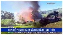 LE RADAR DE L'OBS. Impressionnante explosion dans une usine de feux d'artifice