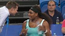 Quand Serena Williams demande un café en plein match