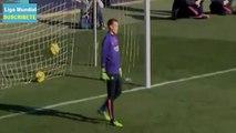 Neymar anotó Tres GOLAZOS en el Mini Estadi