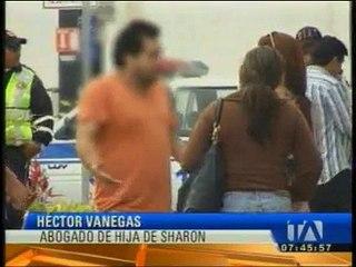"""Abogado de la familia de """"Sharon"""" asegura que hijo de la cantante relató cómo fue el incidente"""