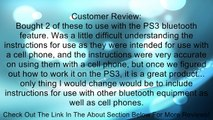 Generic Wireless Bluetooth Headset Headphone for Sony PS3 Playstation - Retail Packaging - Black Review