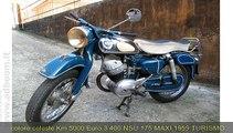LODI, CASTELNUOVO BOCCA D'ADDA   NSU  175 MAXI  CC 175 IMMATRICOLATA 1959