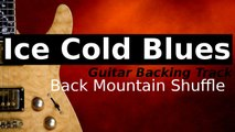 Smooth Blues Guitar Backing Track in B Major/Minor - Back Mountain Shuffle