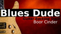 Blues Shuffle Guitar Backing Track in Db - Boor Cinder