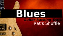 Gritty Blues Rock Backing Track for Guitar in A - Rat's Shuffle