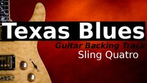 Upbeat Texas Blues Shuffle Guitar Backing Track in E Minor - Sling Quatro