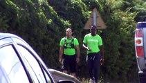 2014/12/31 12h23 Défi +50Km de Marche Coach Mickael Plocoste Solidarité Paix Guadeloupe Départ 7h10 Hôtel-de-Ville Baie-Mahault Arrivée 14h40 Mairie Saint-François Mercredi 31 Décembre 2014