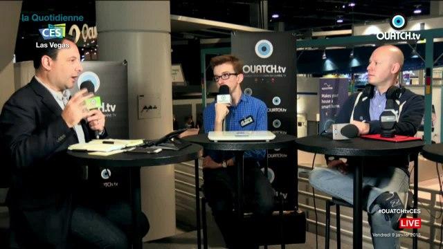 CES 2015 : la Quotidienne de OUATCH TV en direct de Las Vegas (09-01-15)