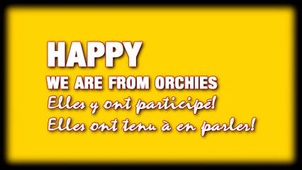 Le HAPPY we are from Orchies,elles y ont participé, elles ont tenu à en parler!