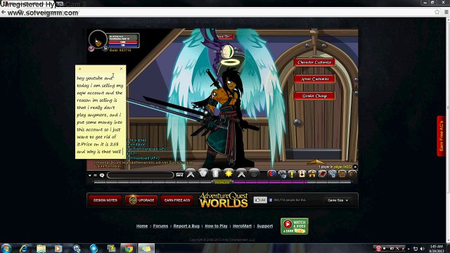 Buy Sell Accounts Aqw Account For Sale 1 Video Dailymotion