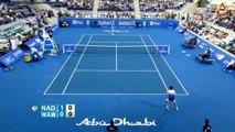 Rafael Nadal vs Stanislas Wawrinka Highlights 2015 Abu Dhabi