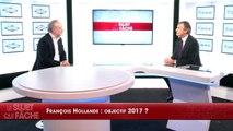 Joffrin : «François Hollande a pris un autre rôle celui du réformateur»