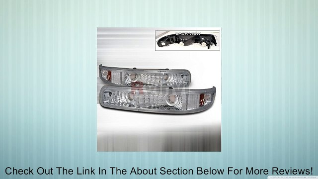 Chevrolet Tahoe Suburban GMC 2000 2001 2002 2003 2004 2005 2006 Turn Signal Bumper Lights - Chrome Review