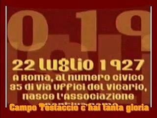 Campo Testaccio - Primo inno storico della Roma