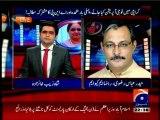 GEO Aaj Shahzaib Khanzada Kay Sath with MQM Haider Abbas Rizvi (05 JAN 2015)