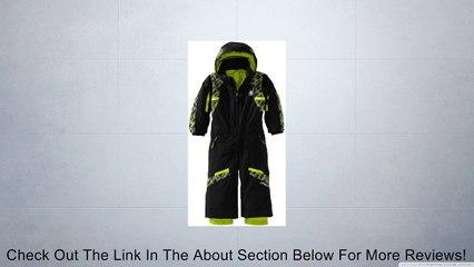 Spyder Boy's Mini Journey Suit, Red/Black/White, 2 Review