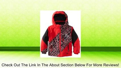 Spyder Boy's Mini Enforcer Jacket, Collegiate/Cmp/Sharp Lime, 2 Review