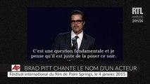 Brad Pitt pousse la chansonnette pour l'acteur David Oyelowo