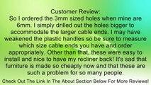 Recliner-Handles Small Oval Recliner Handle Recliner Handle only no Recliner Cable Review