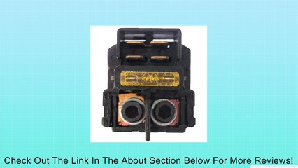 NEW Starter Solenoid Relay Honda VTX1300 VTX 1300 2003 2004 2005 2006 2007 2008 2009 Review