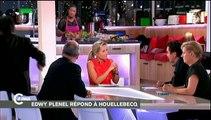 """Patrick Cohen et Edwy Plenel s'affrontent au sujet de Houellebecq dans """"C à vous"""""""