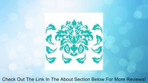 Modern Deco Damask Repositionable Wall Decals / Stickers Review