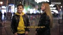 Demander à des garçons de gifler des filles. Belles réaction des jeunes garçons - Expérience sociale