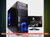 Microtel Computer® AMTI7018 Liquid Cooling PC Gaming Computer with Intel i7 4790K 4.0Ghz 16GB