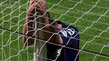 Horror own goal as defender slices past his own goalkeeper!