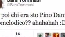 Sara Tommasi offende Pino Daniele, ma è un falso
