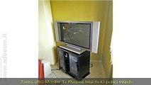 TORINO, VIRLE PIEMONTE   MONITOR TV PLASMA HITACHI 42 POLLICI EURO 120