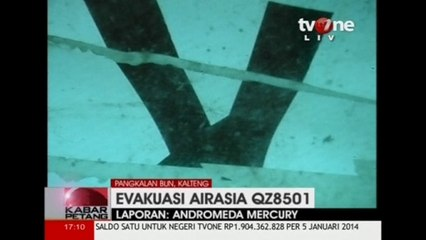 Divers find the tail section of AirAsia flight 8501