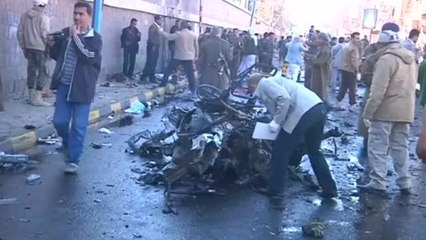 Car bomb kills dozens at a police college in Yemen.