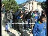 Κατάληψη του Δημαρχείου Λαμίας από ΡΟΜΑ. Έχουν μείνει από νερό και ρεύμα