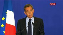 Sarkozy réagit à propos de la fusillade à Charlie Hebdo