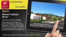A vendre - maison - SAINT GELY DU FESC (34980) - 3 pièces - 69m²