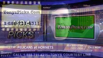Charlotte Hornets vs. New Orleans Pelicans Free Pick Prediction NBA Pro Basketball Odds Preview 1-7-2015