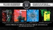 AMORPHIS, HUMAN REMAINS, PAN.THY.MONIUM, and INCANTATION Vinyl Reissues Trailer