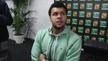 Open d'Australie 2015 - Interview et Sonore de Jo-Wilfried Tsonga sur son forfait