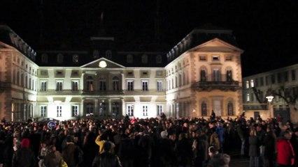 Rassemblement au Puy-en-Velay après l'attentat à Charlie Hebdo