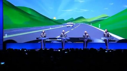 Kraftwerk fans cry tears of joy