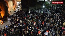 Saint-Brieuc. 1.500 personnes en soutien à Charlie Hebdo