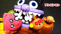 アンパンマン アニメ&おもちゃ コロコロでバスボールだ!バイキンマンが・・・のお話しanpanman toys surprise eggs