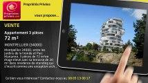 A vendre - appartement - MONTPELLIER (34000) - 3 pièces - 72m²