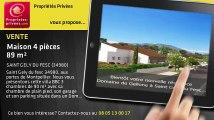 A vendre - maison - SAINT GELY DU FESC (34980) - 4 pièces - 89m²