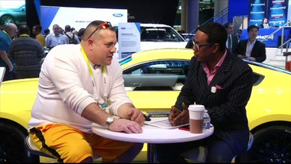 Inside CES 2015 with Mario Armstrong interview with Animal Planet Tanked Wayde King