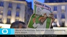 World's Cartoonists, Satirists Unite in Condemning Paris Attack
