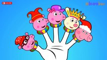 Peppa Pig Super heroes Cartoon Finger Family Collection | Children Nursery Rhyme